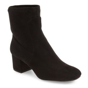 KENNETH COLE Boots Suede Mid Calf Sock Booties 7.5